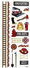 Aufkleber Feuerwehr groß