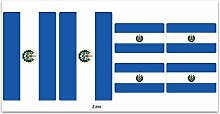 Aufkleber-Flagge–Z284