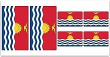 Aufkleber-Flagge Kiribati–Z232