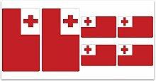 Aufkleber-Flagge Tonga–Z306
