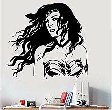Aufkleber Frau Vinyl Wandaufkleber Dc Comics