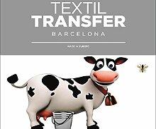 Aufkleber Für das Textil -, ich Liebe Milch -
