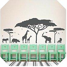 Aufkleber für die Decke   Afrikanische Safari