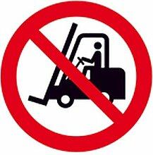 Aufkleber Für Flurförderzeuge verboten