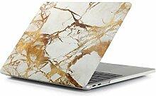 Aufkleber für Laptop Mode Beige White Gold Textur