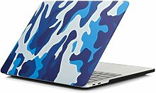 Aufkleber für Laptop Mode Blau Tarnmuster Laptop