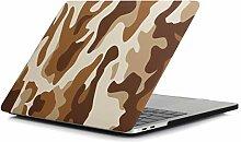 Aufkleber für Laptop Mode braun Tarnmuster Laptop