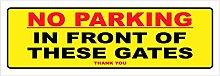 Aufkleber für Parken/Tore/Garage/Radklemme/Keep
