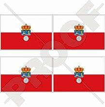 Aufkleber für Stoßstange / Helm, Motiv: Flagge