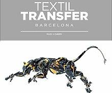 Aufkleber Für Textilien - Deathing Masse - 10x5