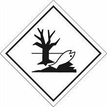 Aufkleber Gefahrzettel Umweltgefährdende Stoffe,