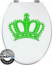 Aufkleber Hellgrün Krone für Pressalit WC