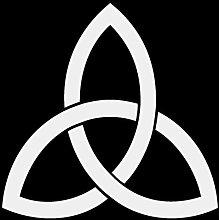 Aufkleber Keltischer Dreiecks Knoten