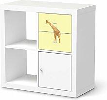 Aufkleber Möbel für IKEA Kallax Regal Schubladen