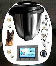 Aufkleber passend für Thermomix TM 5 Schäferhund