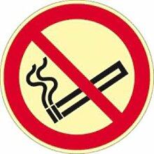 Aufkleber Rauchen verboten ISO 7010