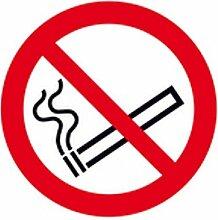 Aufkleber Rauchen verboten Verbotszeichen / Rolle