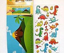 Aufkleber Removable Dinosaurier, Kunststoff,