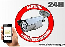Aufkleber - Schild Achtung Videoüberwachung