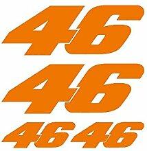Aufkleber Set Sticker 46Ref: spon-010 Orange KTM