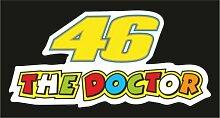 Aufkleber - Sticker 46 Valentino Rossi Moto GP