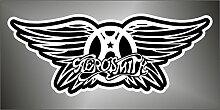 Aufkleber - Sticker Aerosmith hip hop rap jazz hard rock pop funk sticker