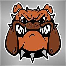 Aufkleber - Sticker Bulldog comics cartoon Zeichentrickfilm sticker