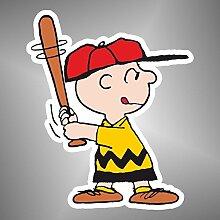 Aufkleber - Sticker Charlie Brown Linus Peanuts