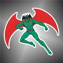 Aufkleber - Sticker Devilman Manga Anime Sticker