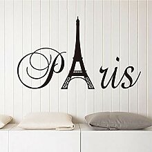 Aufkleber Sticker Fashion Design Paris Eiffelturm