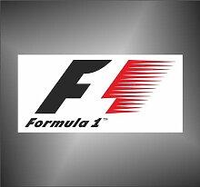 Aufkleber - Sticker formula 1 racing rally decal sticker