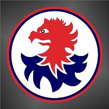 Aufkleber - Sticker Genoa ultras sticker decal serie A champions league