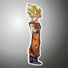 Aufkleber - Sticker Goku Dragon Ball Manga Anime Cartoon Sticker