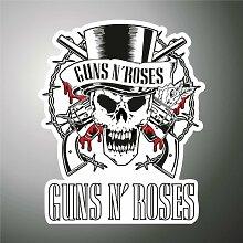 Aufkleber - Sticker Guns 'n Roses hip hop rap