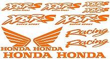 Aufkleber Sticker Honda x8r-s Ref: moto-056 Orange