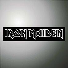 Aufkleber - Sticker Iron Maiden hip hop rap jazz