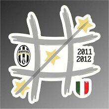 Aufkleber - Sticker Juve Juventus 30 ultras serie A champions League