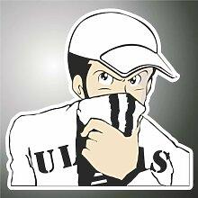 Aufkleber - Sticker Juve Juventus ultras serie A
