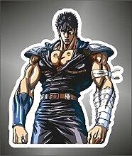 Aufkleber - Sticker Ken il Guerriero Kenshiro