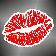 Aufkleber - Sticker Kuss Kiss sticker