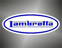 Aufkleber - Sticker Lambretta Moto GP Superbike Motorcycle Bikers Sticker