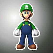 Aufkleber - Sticker Luigi Super Mario PSP XBOX Sticker