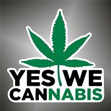Aufkleber - Sticker Marijuana Ganja sticker