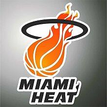 Aufkleber - Sticker Miami Heat Basket NBA sticker