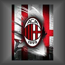 Aufkleber - Sticker Milan ultras serie A champions League football decal