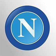 Aufkleber - Sticker Napoli ultras serie A champions League sticker