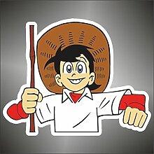 Aufkleber - Sticker Sampei Sanpei Manga Anime
