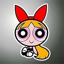Aufkleber - Sticker Super Chicche Powerpuff comics cartoon Zeichentrickfilm sticker