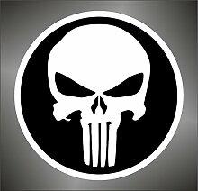 Aufkleber - Sticker The Punisher Skull PSP XBOX Sticker