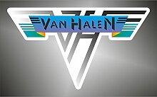 Aufkleber - Sticker Van Halen hip hop jazz hard rock metal sticker